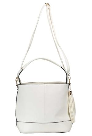 Collezione Kadın Çanta Malez Beyaz