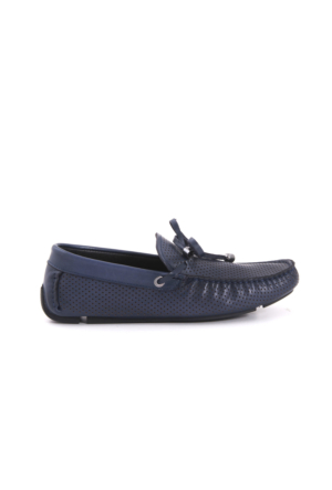 Mocassini Erkek Lacivert Günlük Ayakkabı