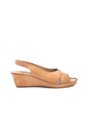 Kemal Tanca Kadın Kum Dolgu Topuk Sandalet