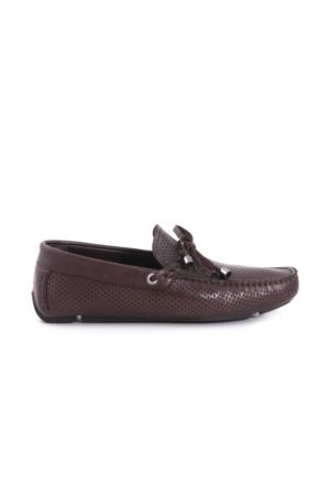 Mocassini Erkek Kahverengi Günlük Ayakkabı
