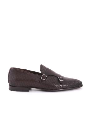 Kemal Tanca Erkek Kahverengi Puzzle Klasik Ayakkabı