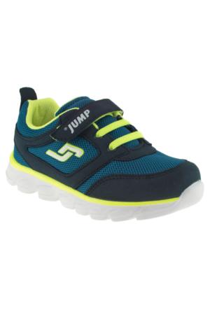 Jump 15665 Yeşil Çocuk Spor Ayakkabı