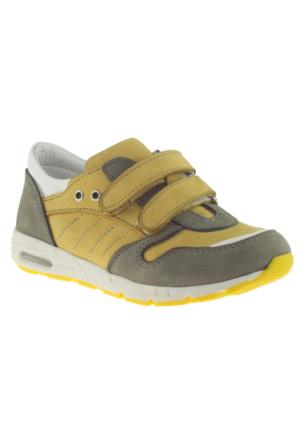 Perlina 1213 Tek Cırt Sarı Çocuk Ayakkabı