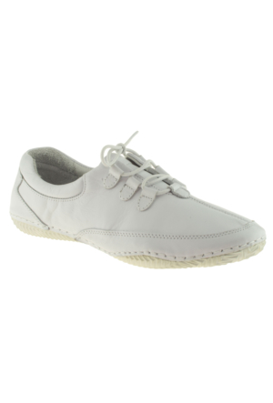 Estile 101-036 Bağlı Beyaz Kadın Ayakkabı