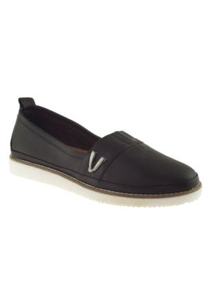 Estile 101-59 Casual Siyah Kadın Ayakkabı
