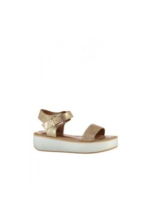 Elle Nadya Kadın Sandalet - Altın