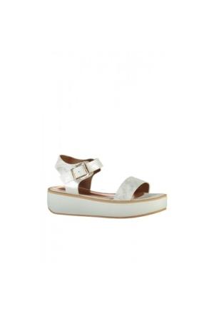 Elle Nadya Kadın Sandalet - Gümüş