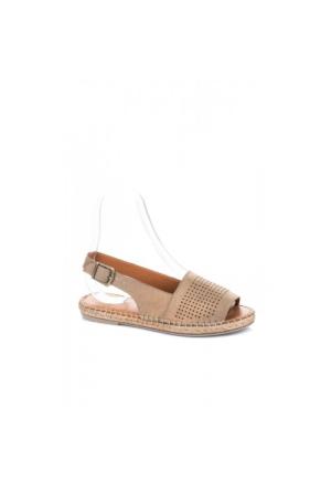 Elle Megy Kadın Sandalet - Bej