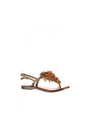 Elle Zella Kadın Sandalet - Bej