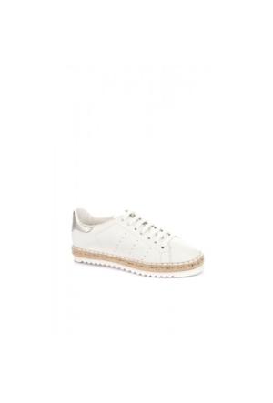 Elle Roxana Kadın Ayakkabı - Beyaz - Gümüş