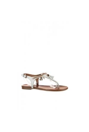 Elle Nunes Kadın Sandalet - Beyaz
