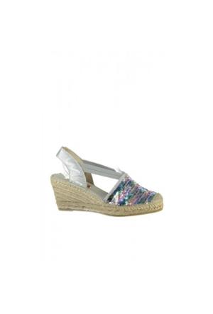 Elle Delmara Kadın Ayakkabı - Gümüş