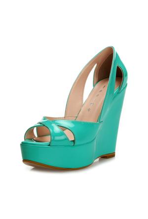 SotheCM-001Bayan Dolgu Topuk Ayakkabı
