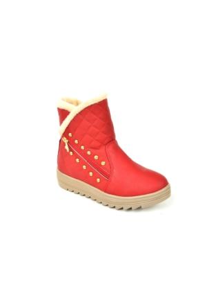 Twingo 6411 İçi Termal Kürk Kız Çocuk Bot Ayakkabı