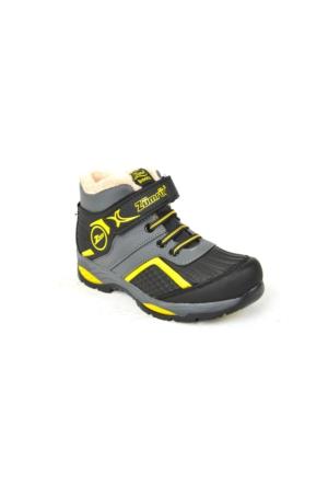 Zümrüt FT 026 İçi Termal Kürk Çocuk Bot Ayakkabı