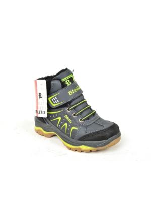 Bletix PT 020 Erkek Çocuk İçi Termal Kürk Bot Ayakkabı