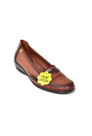 Gökçen 226 %100 Deri Ortopedik&Günlük Anne Ayakkabı