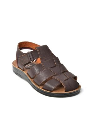 Gözde Gr 257 Cırtlı Ortopedik Erkek Çocuk Sandalet