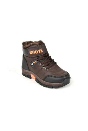 Jamper PT İçi Termal Kürk Erkek Çocuk Bot Ayakkabı