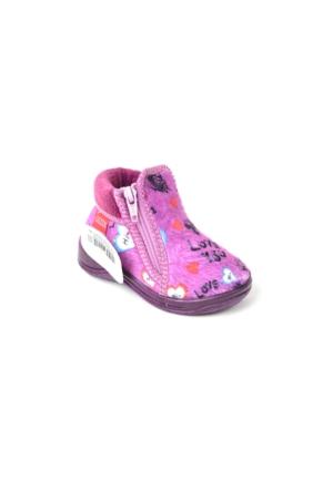 Gezer Bebe Kız Çocuk Panduf Ayakkabı