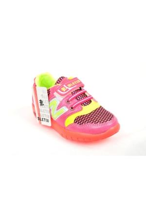Bletix PT 1006 Kız Çocuk Işıklı Yazlık Spor Ayakkabı