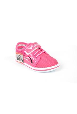 Lotix Pt Kız Çocuk Microfiber Günlük Spor Ayakkabı
