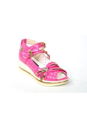Teksoy Pt 218 Önü Açık Cırtlı Kız Çocuk Ayakkabı