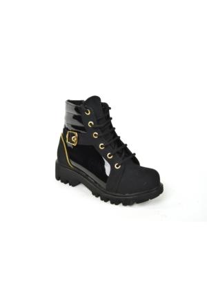 Ayakcenter FT Kız Çocuk Kışlık Bot Ayakkabı