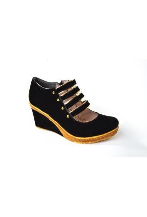 Byn Ayışıgı ZN Askılı Dolgu Topuk Ayakkabı