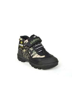 Lagoos FT Kamufılaş Erkek Çocuk Bot Ayakkabı