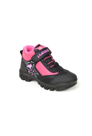 Lagos 045 Cırtlı Kız Çocuk Bot Ayakkabı