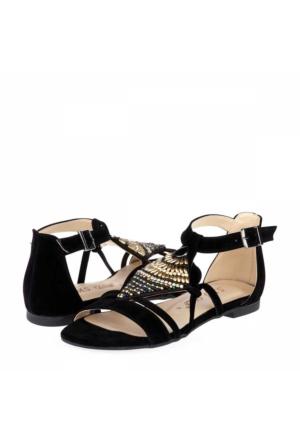 Sms Kadın Düz Sandalet