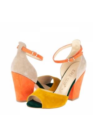 Sms Kadın Topuklu Sandalet A172Ysms00111840