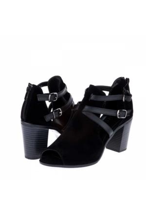 Sms Kadın Topuklu Ayakkabı