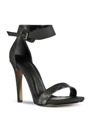 Marjin Benis Topuklu Ayakkabı Siyah