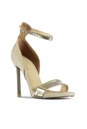 Marjin Cenla Topuklu Ayakkabı Altın