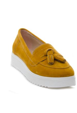 Ayakkabı - Hardal - Ayakkabı Havuzu