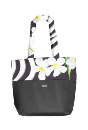 Orkide Plaj Çantası - Siyah - Mayovera