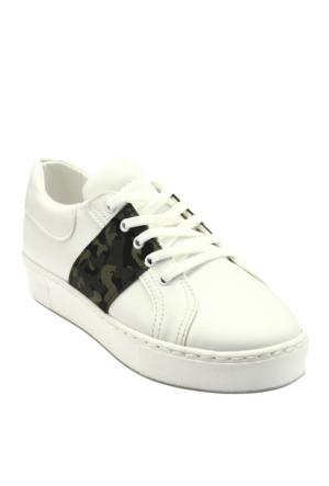 Ayakkabı - Beyaz Kamuflaj - Zenneshoes