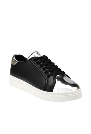 Ayakkabı - Siyah Lame - Zenneshoes