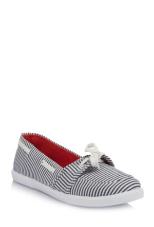 DeFacto Kadın Bağcıklı Babet Ayakkabı Gri