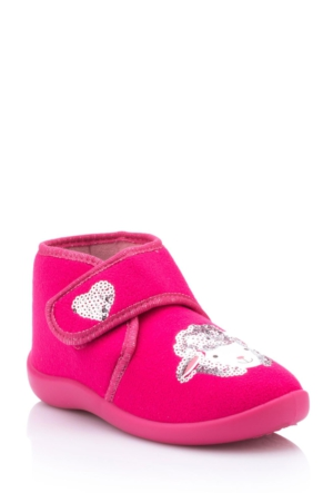 DeFacto Kız Çocuk Ev Ayakkabısı Pembe