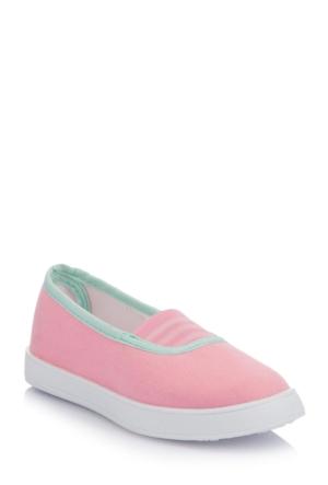 DeFacto Kız Çocuk Bağcıksız Ayakkabı Pembe