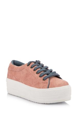 DeFacto Kız Çocuk Yüksek Taban Ayakkabı Pembe