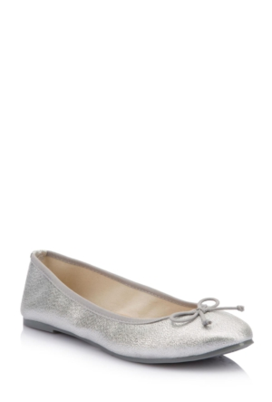 DeFacto Kadın Fiyonklu Babet Gümüş