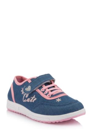 DeFacto Kız Çocuk Ayakkabı Açık Mavi
