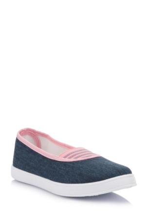 DeFacto Kız Çocuk Babet Ayakkabı İndigo