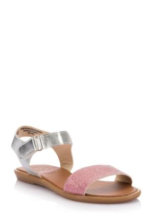 DeFacto Kız Çocuk Sandalet Gümüş