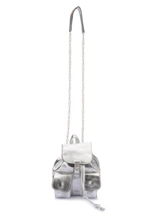 DeFacto Kadın Omuz Askılı Postacı Çanta Gümüş