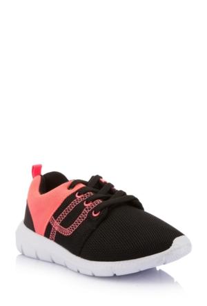 DeFacto Kız Çocuk Spor Ayakkabı Siyah